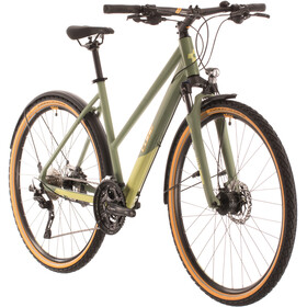 Cube Nature EXC Allroad Trapez, green/orange